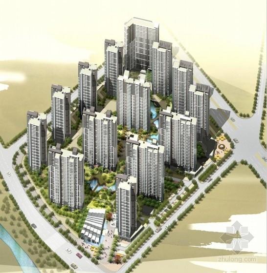 [合肥]现代风格高层统一风格塔式住宅建筑设计方案文本(知名设计院)