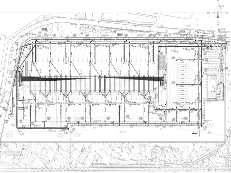 [福建]大型LNG站线车站工程给排水管道消防系统设计图296张