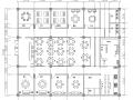 宋元中式餐厅室内装修施工图(含效果图)