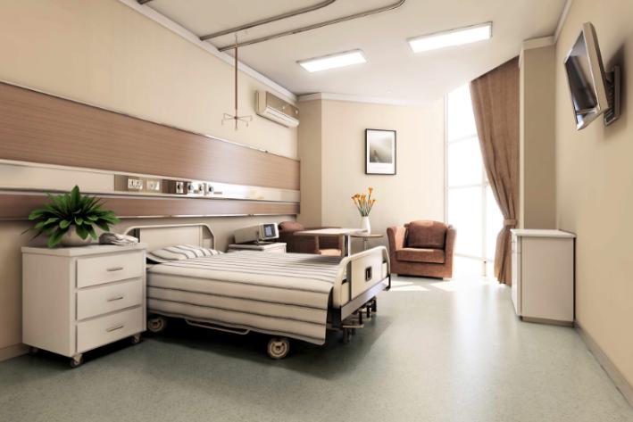 上海某骨科医院室内装修设计方案及效果图(15张)