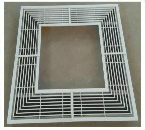 七种空调风口的分类与用途_3