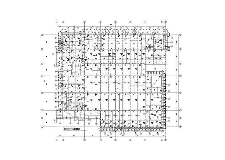 3层大学食堂钢混框架结构施工图2015含建筑
