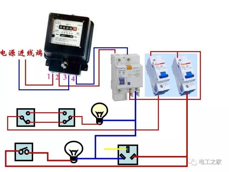 全彩图深度详解照明电路和家用线路_36