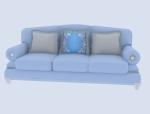 淡雅沙发3D模型下载