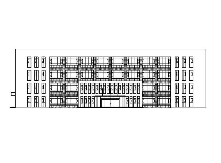 [宁夏]四层框架结构建筑知名企业全套施工图(含厂房、宿舍等)