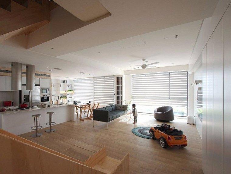 台湾现代风格别墅-1
