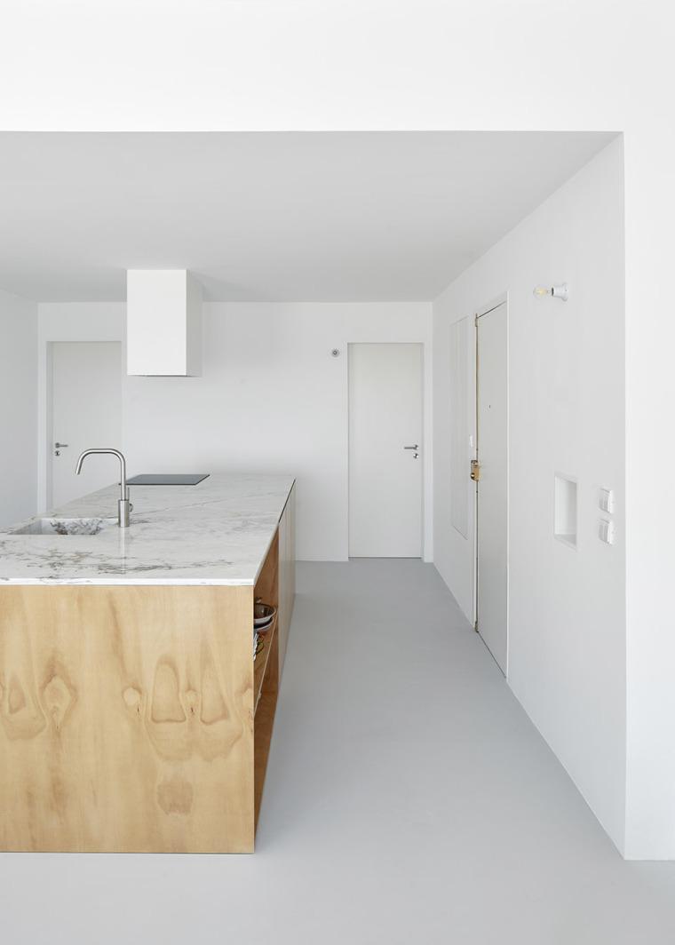 葡萄牙Beato极简公寓改造-003-Beato-Apartment-Renovation-by-Arriba