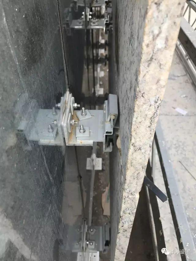 解析|外墙干挂石材幕墙标准化施工流程!_6