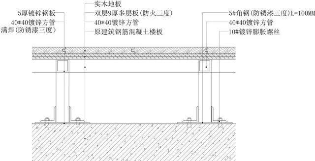 地面、吊顶、墙面工程三维节点做法施工工艺详解_2