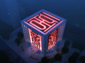 现代中式建筑3D模型下载