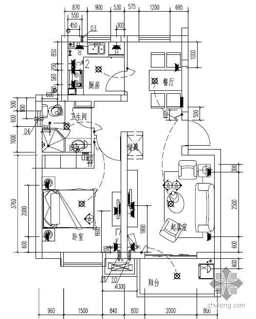 某房地产公司住宅机电点位标准图册