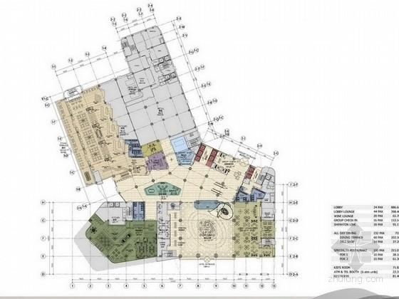[安徽]国际集团连锁豪华五星级酒店设计方案
