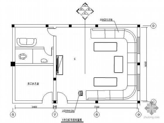 豪华KTV空间装修图(包厢及大厅)