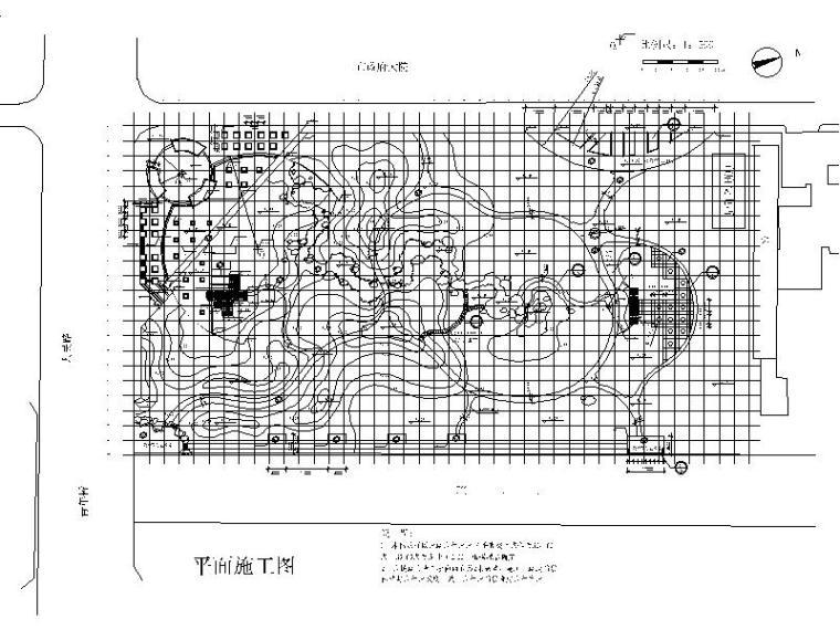 平面施工图