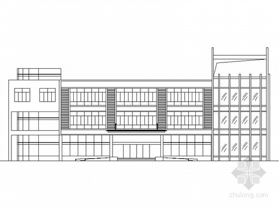 [江苏]某三层办公楼建筑施工图(含计算书)