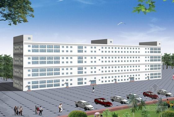 [广东]2015年钢框架结构车间建筑安装工程预算书(附图纸)