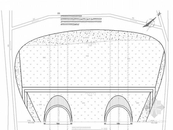 [重庆]埋深180m双向4车道复合式衬砌隧道设计图纸253张(含机电泵房给水交通)