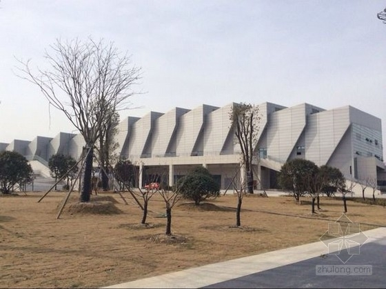 钢结构平面桁架折板体系省运会游泳馆结构施工图(含详细建筑图 计算书)