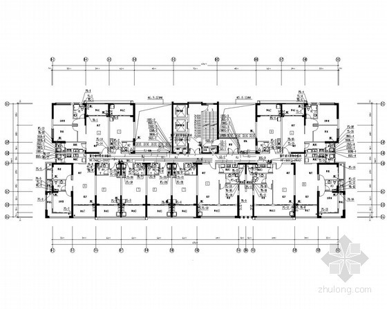 [海南]外语培训中心公寓给排水施工图