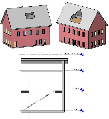 Revit建筑建模之洞口