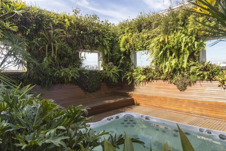 巴西屋顶花园