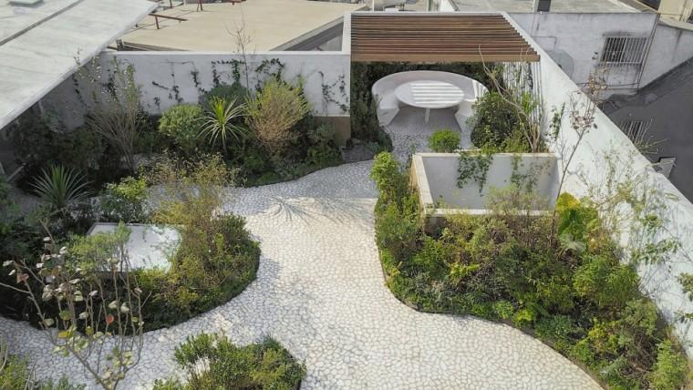 墨西哥屋顶花园景观