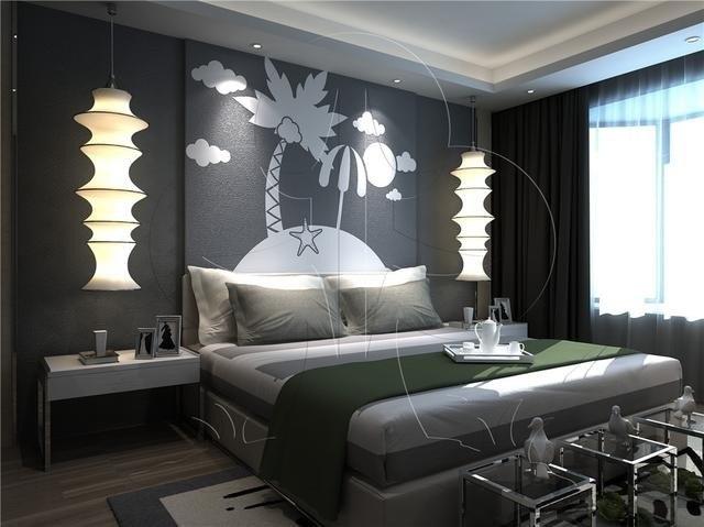 硅藻泥背景墙装修效果图分享