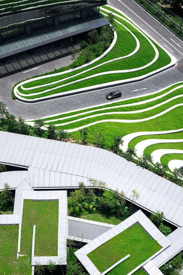 3-新加坡Comtech商业园区景观设计第3张图片