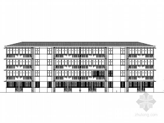 [合集]4套老旧小高层住宅改造建筑施工图