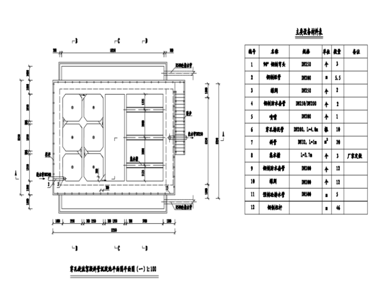 [浏阳]农村饮水安全供水工程给水管道结构施工图114张(大院)