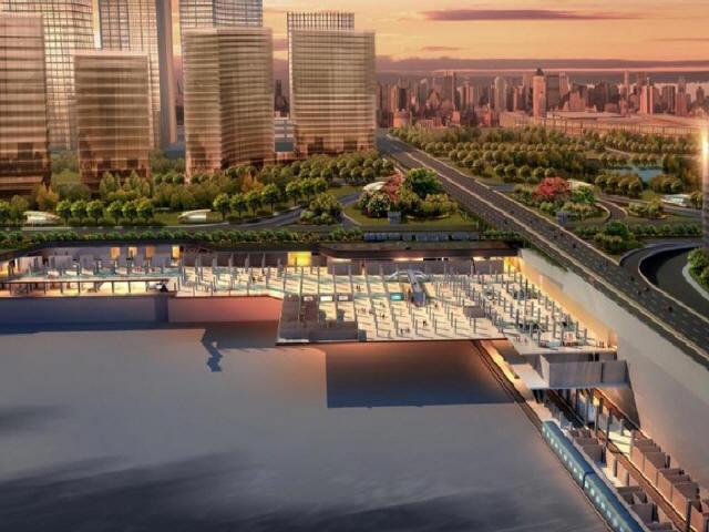 [广东]地铁4线换乘综合交通枢纽公共区装修设计图纸176张CAD