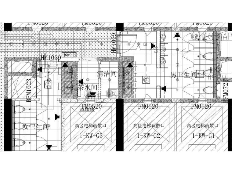 [天津]鲁能35层商业和办公楼精装电气供配电系统和照明系统图纸设计