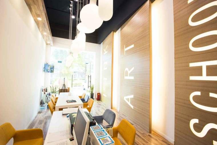 上海品艺教育机构—南汇分部-商业展示类装修案例