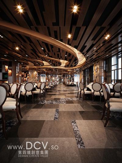 西安唯一的青花主题餐厅设计-太子轩_3