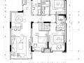 [辽宁]夏花似锦—103㎡三居室住宅设计施工图及效果图