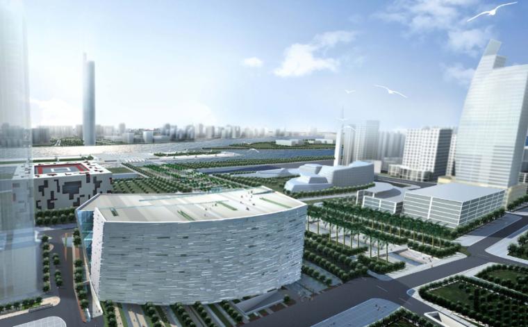 [广东]广州市新图书馆建筑设计方案文本
