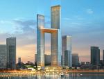 [山东]SOM青岛海天中心超高层综合体建筑设计方案