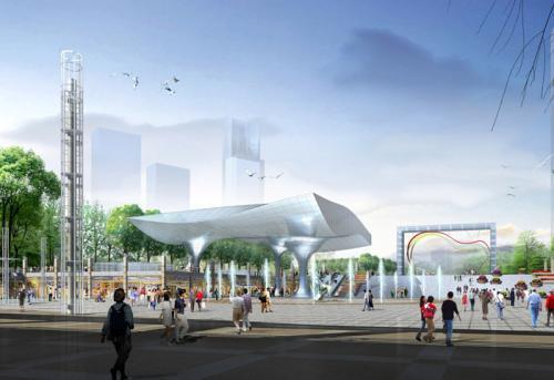 [重庆]冉家坝广场工程暖通空调设计方案