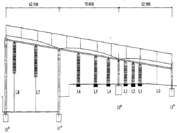 小半径变截面钢箱梁顶推施工技术