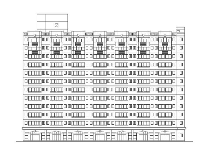 [重庆]中学教学楼设计方案文本施工图