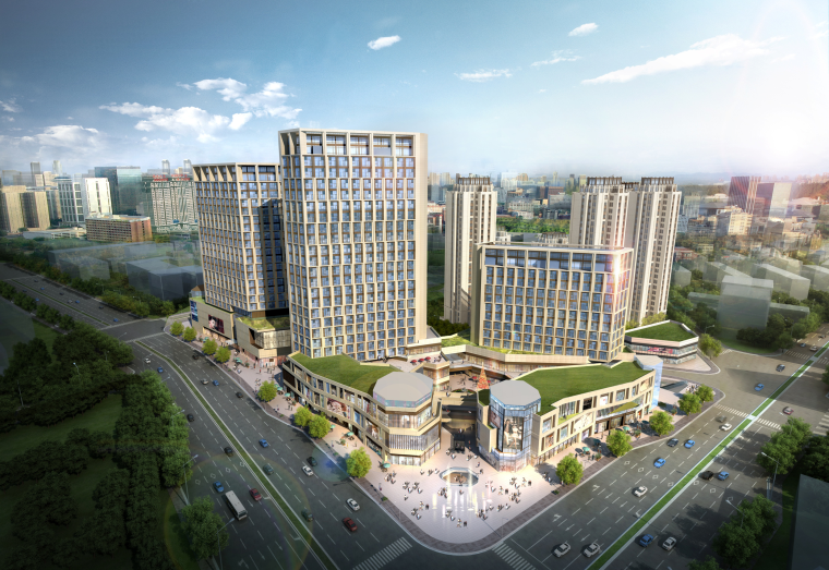 [北京]门头沟山水城市商住办混合用地居住小区规划设计方案文本(PPT)