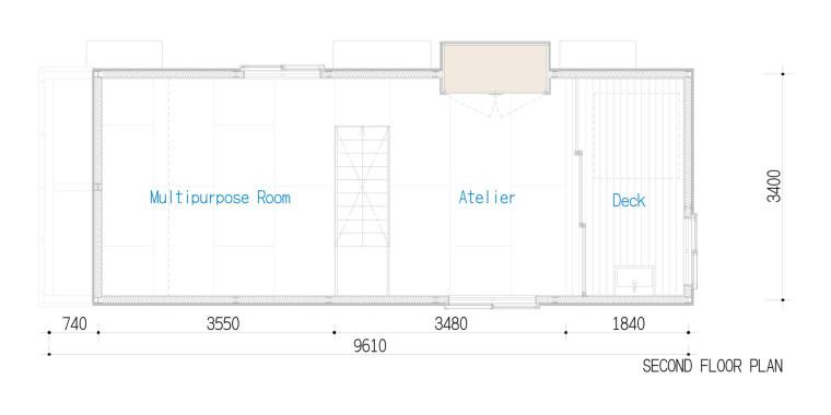 日式独栋住宅室内设计施工图(附效果图)48页