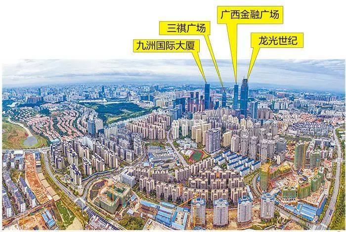 世界第二!南宁去年建成的摩天大楼竟这么多,秒杀北上广!