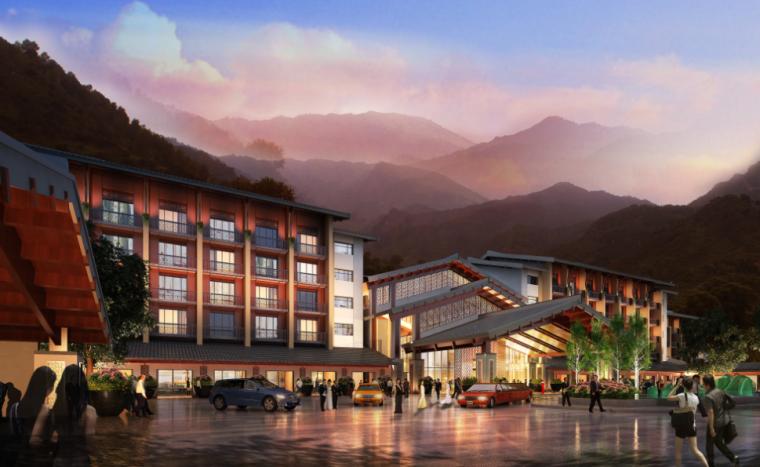[山西]度假酒店规划设计全套方案文本