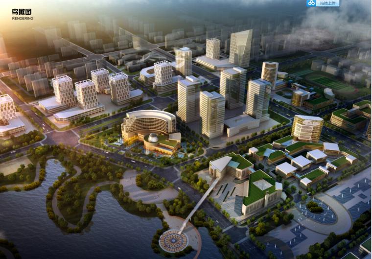 [浙江]五星级酒店及休闲娱乐购物中心设计方案文本(16年投标二)