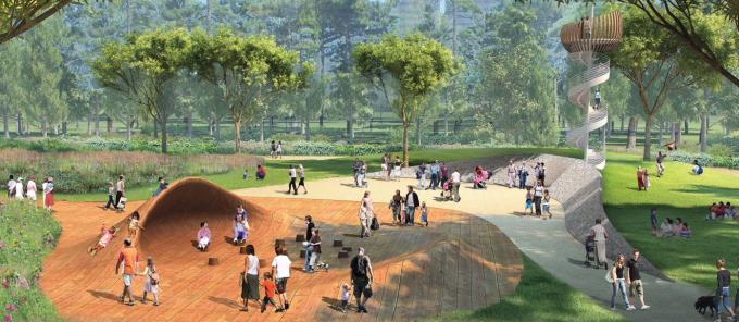 [山东]海滨生态城市地标黄金海岸景观规划设计方案_4