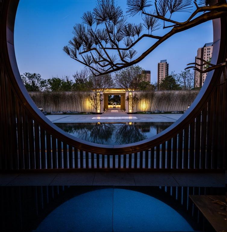 北京阳光城京兆府新中式住宅景观-1 (31)