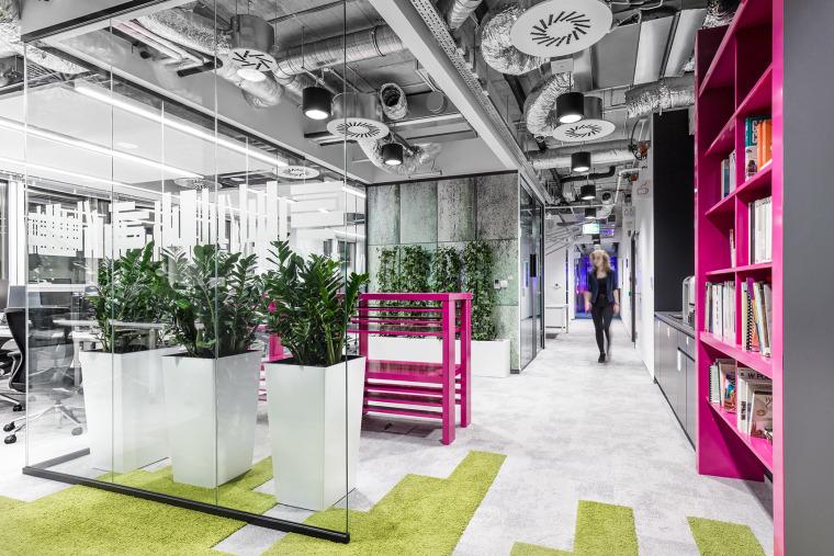 #办公空间设计案例#波兰MediaCom总部办公室-008-MediaCom-Warsaw-by-Workplace