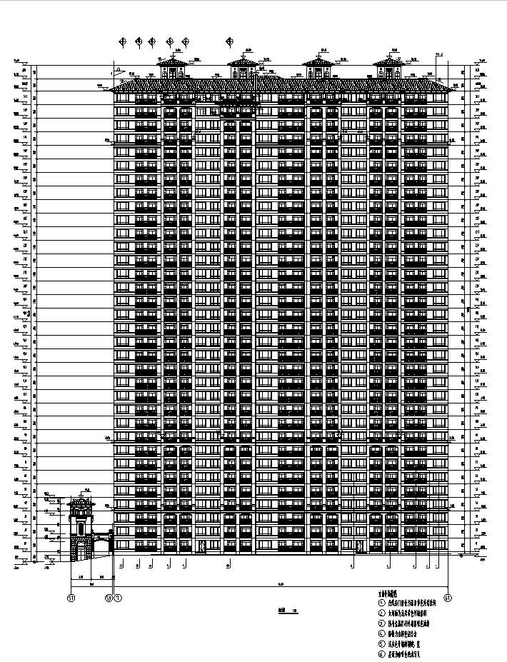 [江苏]17年最新高层住宅及独栋别墅、地下车库建筑施工图