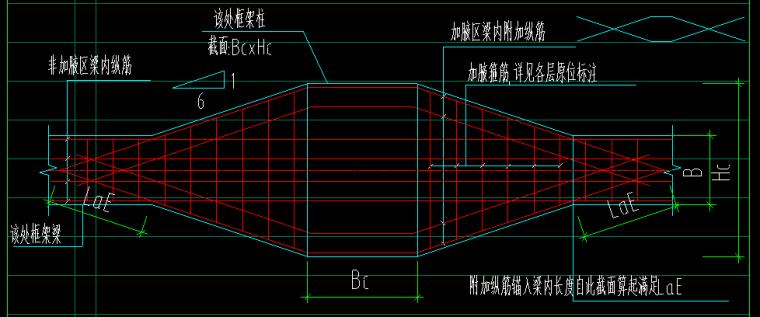 重庆恒大中央广场A区全套结构图纸_2